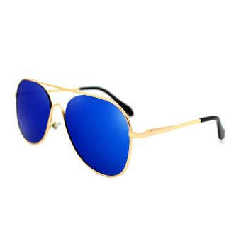 Maldives 8611-Y Oliver Sunglasses (Blue/ Gold) - picture 2