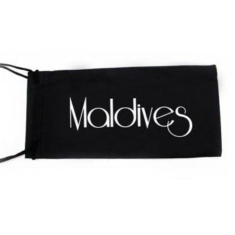 Maldives A17-Y Allison Oversized Aviator Textured Arm Design Sunglasses (Gradient Black Green/Gunmetal Black) - 3