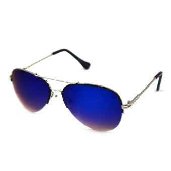 Maldives Elaine Sunglasses 1812 (Navy Blue/Silver) - picture 2