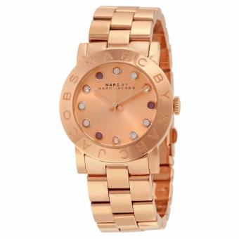 MARC BY MARC JACOBS Amy Texter Rose Dial Rose Gold-tone Ladies Watch