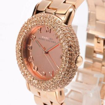 Marc by Marc Jacobs Women's MBM3192 Marci Analog Display Analog Quartz Rose Gold Watch
