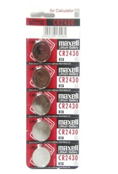 Maxell Lithum Battery CR2430 Pack of 5 Price Philippines