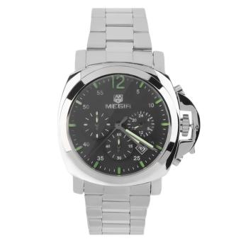 Megir Stainless Steel Strap Men's Watch 3006 (Silver)