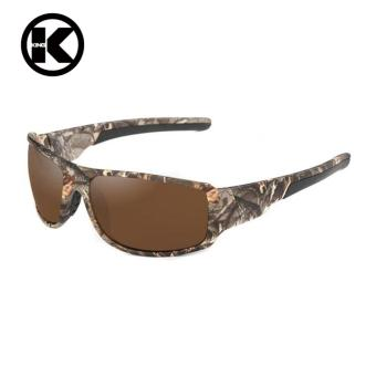 Men Polarized Sunglasses Camouflage Frame Sport Sun Glasses Fishing Eyeglasses Oculos De Sol Masculino - intl