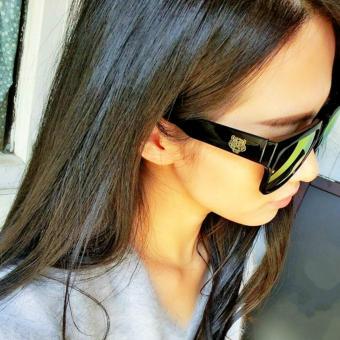 Men Sunglasses Original Top Designed Polarizer UV400 Driving Mirror Square Black Sunglass Eyewear Sun Glasses for Ladies and Gentlemen - 4