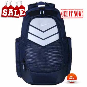 MENS BACK PACK NIKE AIR MAX BLUE SPORTS GYM SCHOOL MENS WOMENSBACKPACK BAG