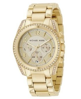 Michael Kors Blair Ladies' Gold Stainless Steel Strap Watch MK5166 Price Philippines