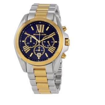 MICHAEL KORS Bradshaw Chronograph Blue Dial Two-tone Ladies WatchMK5976 Price Philippines