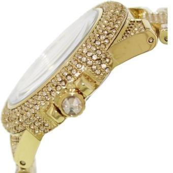 Michael Kors Camille Glitz Chronograph Gold Women's Large Size-MK5756 - 4