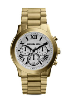 Michael Kors Cooper Gold-tone Stainless Steel Chronograph WatchMK5916