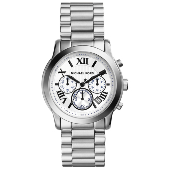 Michael Kors Cooper Silver-tone Stainless Steel Chronograph Watch MK5928 Price Philippines