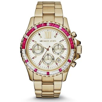 Michael Kors Everest Women's Gold Stainless Steel Strap WatchMK5871 Price Philippines