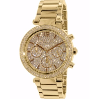 Michael Kors Gold-Tone Glitz Dial Parker Watch MK5856 Price Philippines