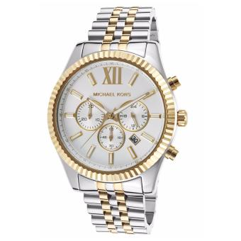 Michael Kors Lexington Chronograph White Dial Two-tone Watch Price Philippines