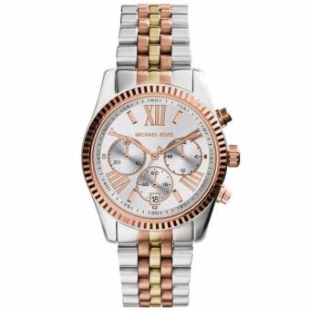 Michael Kors Lexington Tricolor Stainless Steel Chronograph WatchMK5735
