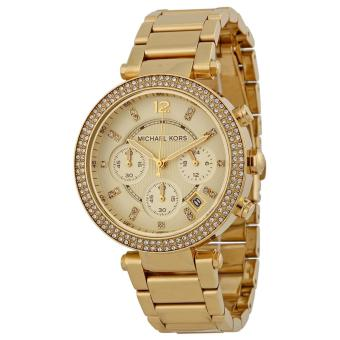 MICHAEL KORS Parker Ladies Gold-tone Stainless Steel Strap Watch Price Philippines