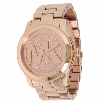Michael Kors Rose Gold-Tone Glitz Dial Runway Oversized WatchMK5661 Price Philippines