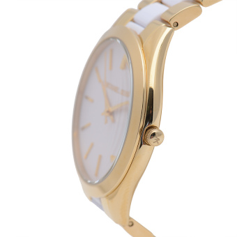 Michael Kors Runaway Women's Gold-tone Stainless Strap Watch MK4295 - picture 2