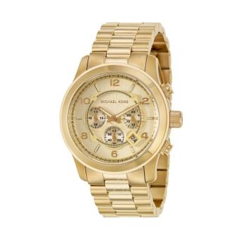 Michael Kors Runway Chronograph Men's Gold Stainless Steel StrapWatch MK8077 Price Philippines