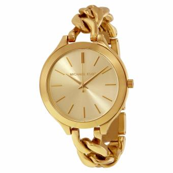 MICHAEL KORS Slim Runway Champagne Dial Gold-tone Ladies WatchMK3222 Price Philippines