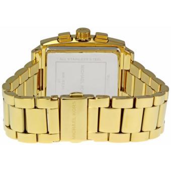 Michael Kors Square Chronograph Women's Midsize Watch-MK5330 - 3