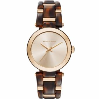 Michael Kors Women's Delray Gold Dial Two-Tone Bracelet WatchMK4314 Price Philippines