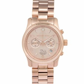 Michael Kors Women's 'Paris Limited Edition Runway' Rose-goldtoneWatch MK5716 Price Philippines