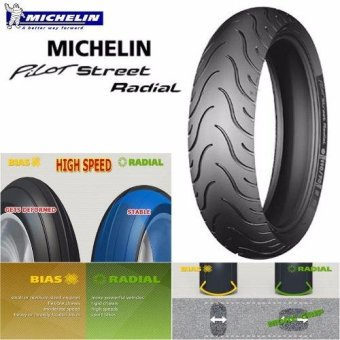 MICHELIN PILOT STREET RADIAL 120/70 ZR17 58W MOTORCYCLE TIRE