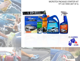 Microtex 1000D Car Care, 5-piece Set (Bundle Series) Price Philippines