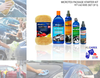 Microtex Car Care 500E 5-piece Set (Bundle Series) Price Philippines