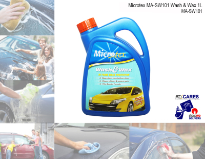 Microtex MA-SW101 Wash & Wax 1L (Detailing Solutions)