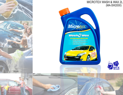 Microtex MA-SW2000 Wash and Wax 2L (Detailing Solutions)