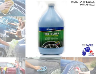 Microtex MA-T3800 LAZ-1000C Tire Black (Detailing Solutions)