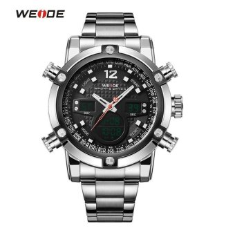 Military Watch Men 's Smart Waterproof Watch Special Luminous- Black - intl Price Philippines