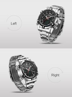 Military Watch Men 's Smart Waterproof Watch Special Luminous- Black - intl - 3