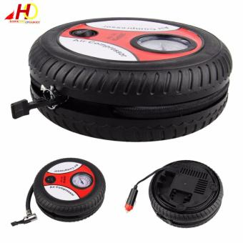 Mini Air Compressor DC12v Portable Size Mini Tyre Inflating Pump 12V Vehicle portable pump for car,motorcycle bicycle ball etc. - 5