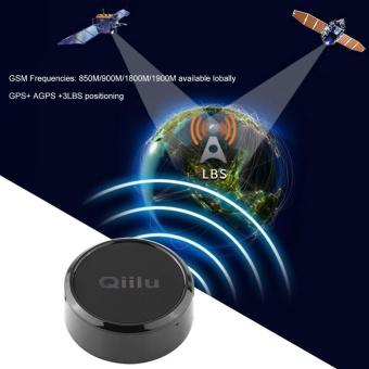 Mini GPS Tracker Locator GSM GPRS Tracking System with SOS Alarmfor Car Kids Pet Dog Black - intl - 3