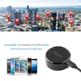 Mini GPS Tracker Locator GSM GPRS Tracking System with SOS Alarmfor Car Kids Pet Dog Black - intl - 2