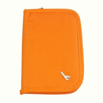 Mini Passport Holder (Orange)