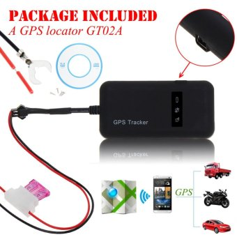 Mini Realtime Car GPS GSM Tracker Locator Vehicle/Truck PersonalTracking Device - intl
