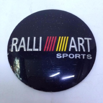 Mitsubishi Ralliart Center Cap Sticker