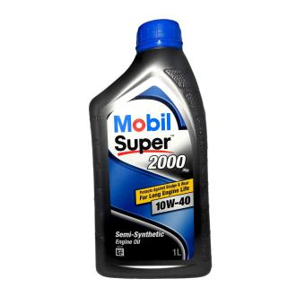 Mobil Super 2000 X2 SN/CF 10W40 Semi-Synthetic Gasoline Engine Oil(1 Liter)
