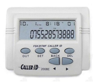 Mobile FSK/ DTMF Tele Caller ID Display Box Call History Cable Telephone - intl