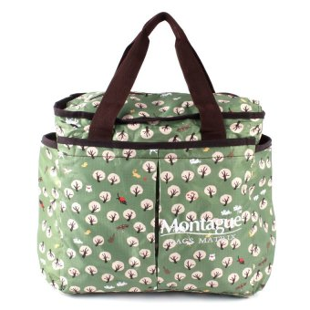 Montague Matrix Kit Diaper Bag (Nature Green)