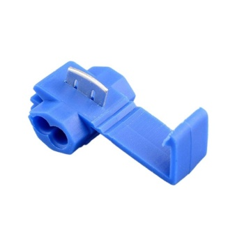 Moonar 50pcs Wire Terminals Quick Splice Connector Scotchlock (Blue) - intl Price Philippines