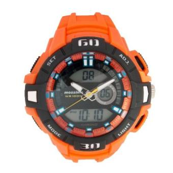 Mossimo Cryo Unisex Orange Silicone Strap Ana-Digi Watch MS-1512G-ORG Price Philippines