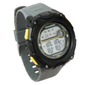 Mossimo Travis Unisex Grey Silicone Strap Watch MS-1408G-GRY - 2