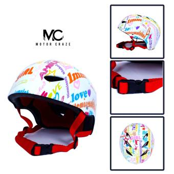 Motor Craze HNJ Amour Half Face Crash Safety Passenger Helmet