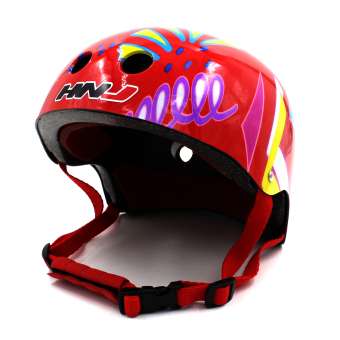 Motor Craze HNJ Arrow Half Face Crash Safety Passenger Helmet