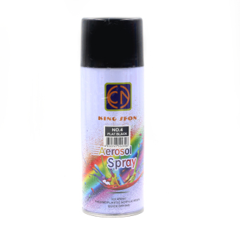 Motor Craze King Sfon Aerosol Spray Paint (Flat Black)